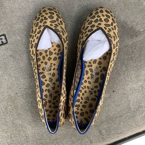 New without box leopard print Rothys